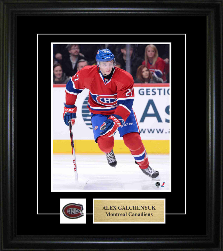 Alex Galchenyuk - Montreal Canadiens 8x10 Pin & Plate