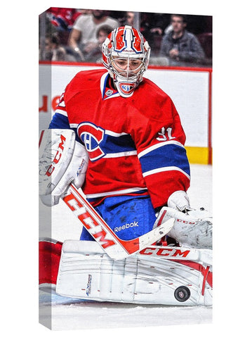 Carey Price - 14x28 Canvas Montreal Canadiens The Save