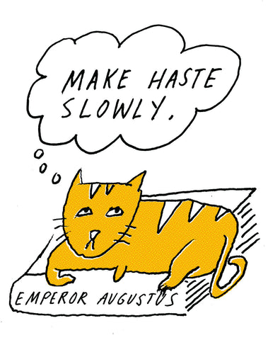 Philosopher Cat: Emperor Augustus