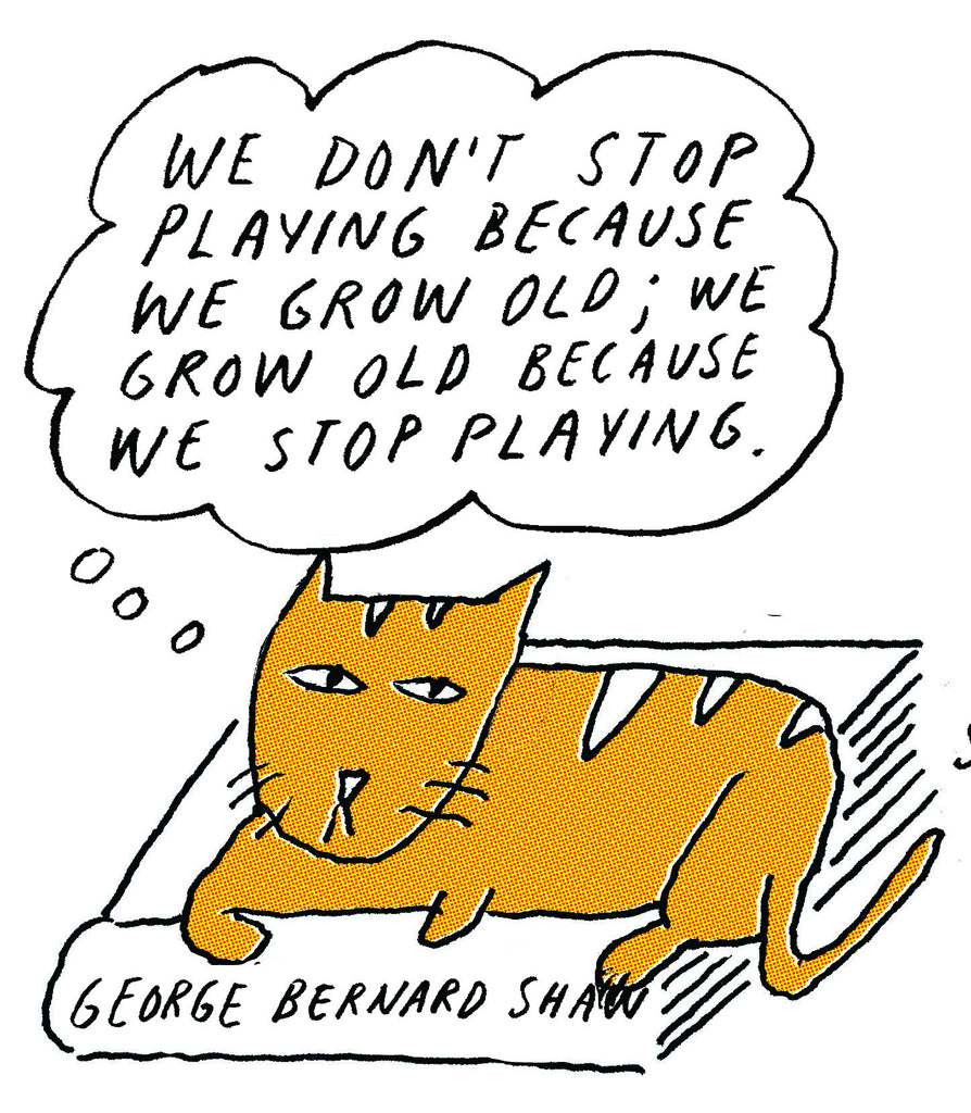 Philosopher Cat: George Bernard Shaw