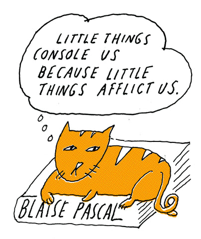 Philosopher Cat: Blaise Pascal