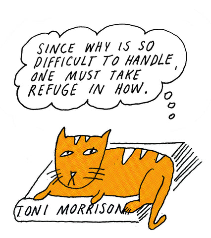 Philosopher Cat: Tony Morrison