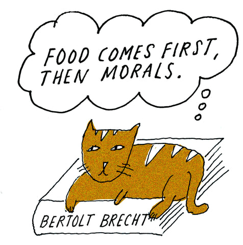 Philosopher Cat: Bertolt Brecht