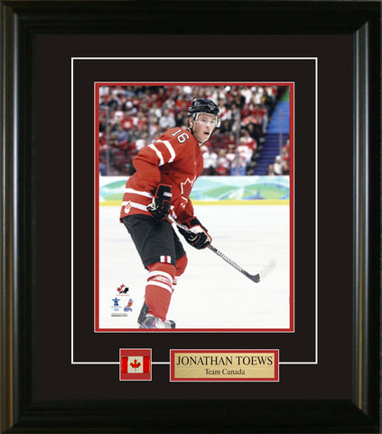 Joanthan Toews - 8x10 Pin & Plate Team Canada 2010 Olympic