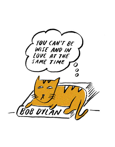 Philosopher Cat: Bob Dylan