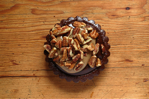 The Gooey Chocolate Caramel Pecan Tart
