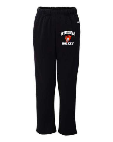 Badger Open Bottom Sweatpants