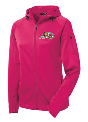 Ski Otters Ladies full zip fleece jacket