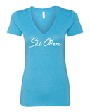 Ski Otters V-Neck