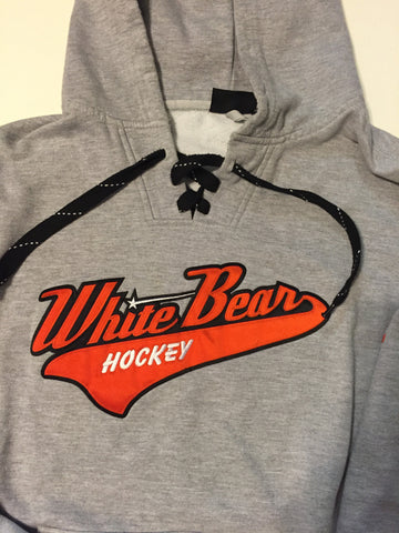White Bear Hockey Tail logo