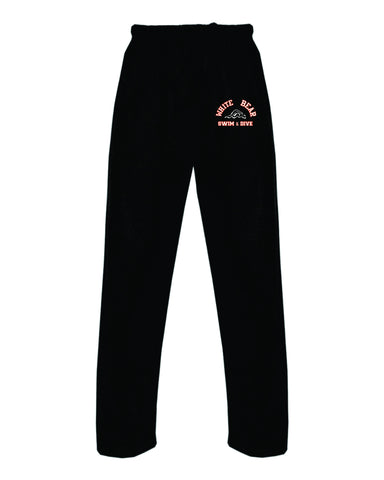 Swim & Dive open bottom sweatpants
