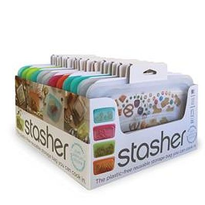 Stasher Snack Small Assorted Colours 9.9 oz/293ml