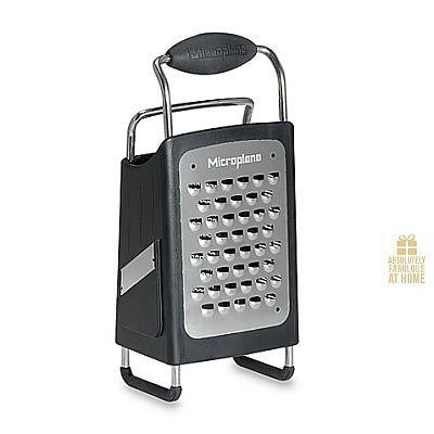 4-Sided Box Grater Microplane -Absolutely Fabulous at Home