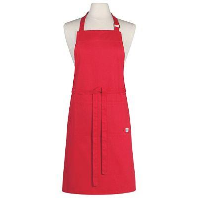 Basic Red Apron by Now Designs