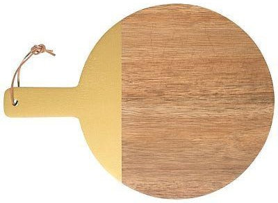 Acacia Cheese Board -Gold Dip -Absolutely Fabulous at Home
