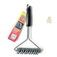 "Brushtech Double Helix 12"" Barbeque Brush Bristle Free"