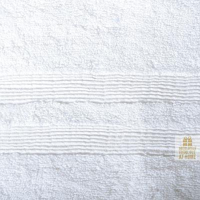 Allure Hand Towel White