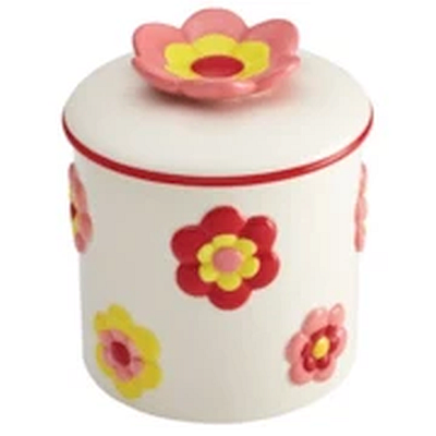 Cake Boss Flower Cookie Jar