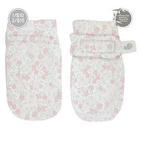 Perlim Pinpin Scratch Mitts in Floral