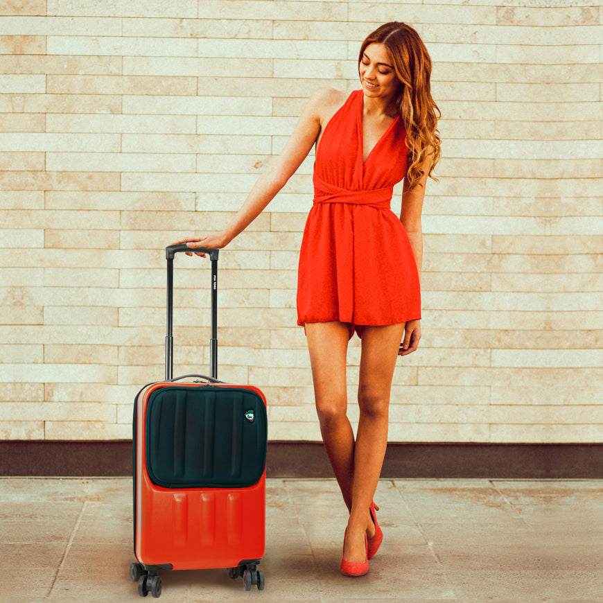 Mia Toro technology and innovation luggage collection