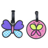 2-Piece Cute Luggage Tags