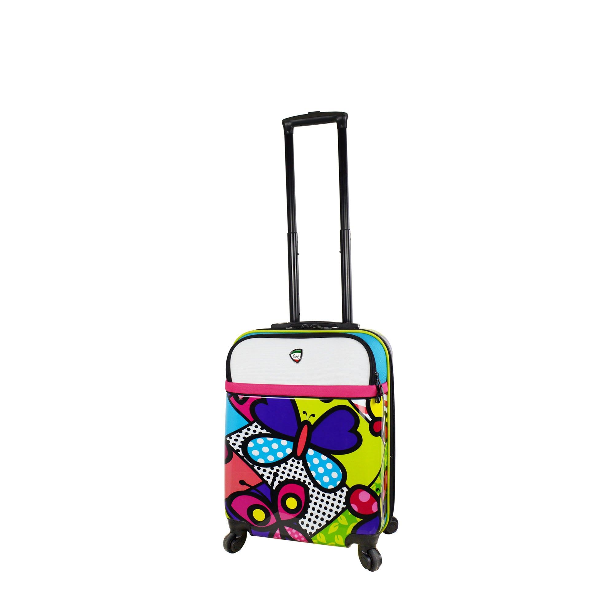 Mia Toro ITALY M by Mia Toro-Butterflies Hybrid Hardside Spinner Carry-On-Mia Toro