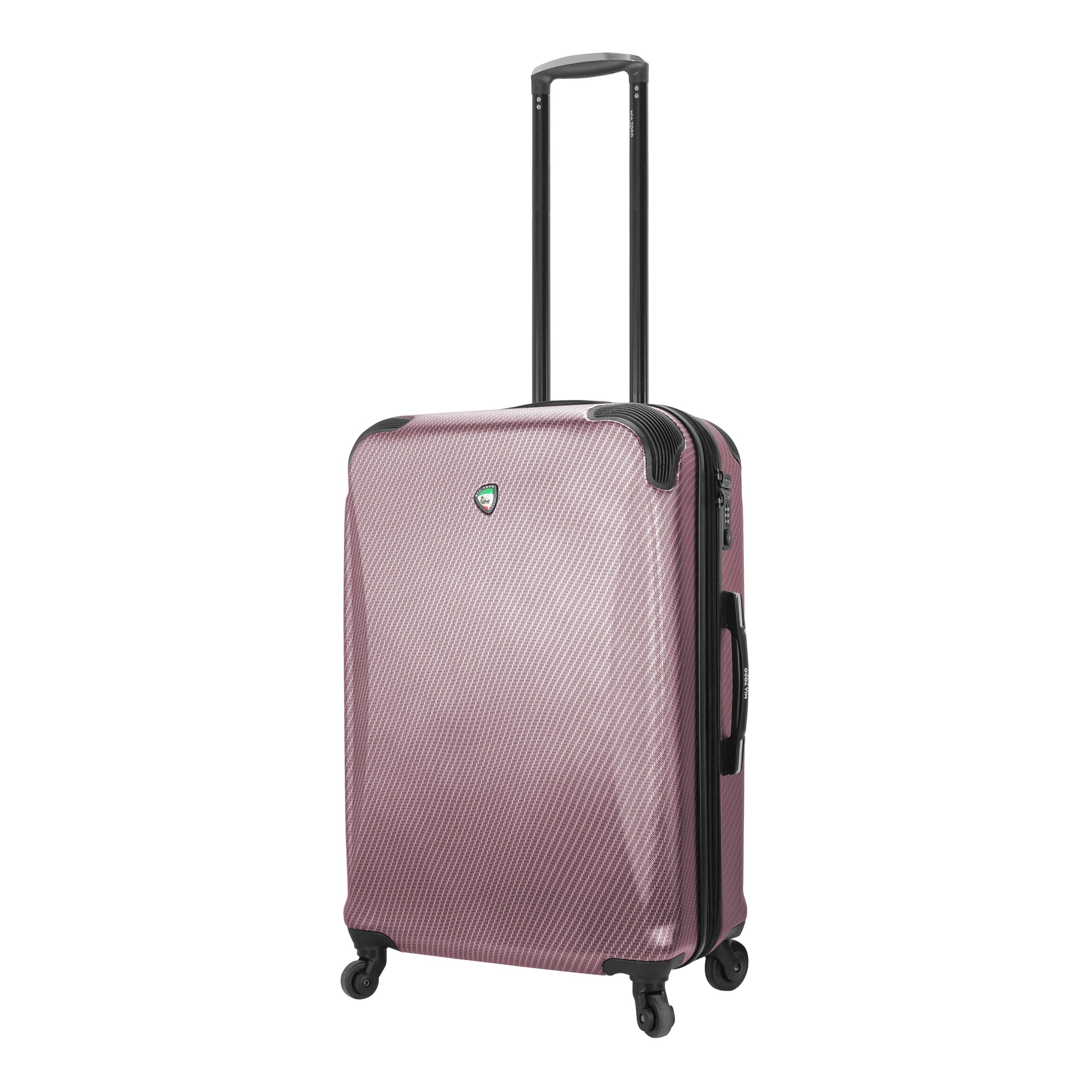 Mia Toro ITALY Gaeta Hard Side 26 Inch Spinner Luggage