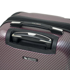 Mia Toro ITALY Gaeta Hard Side Spinner Carry-On