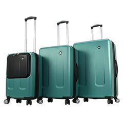 Mia Toro Roccia Hard Side Spinner Luggage 3PC Set NN-Mia Toro