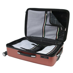Mia Toro Roccia Hard Side Spinner Luggage 3PC Set-Mia Toro