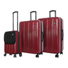 Mia Toro ITALY Reggia Hard Side Spinner Luggage 3PC Set-Mia Toro