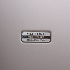 Mia Toro ITALY Molded Art Maze Hard Side Spinner Carry-On-Mia Toro