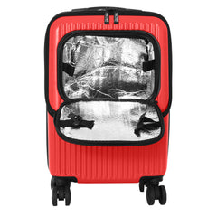 Mia Toro ITALY Radial Hard Side 20 Inch Spinner Carry-On Luggage-Mia Toro