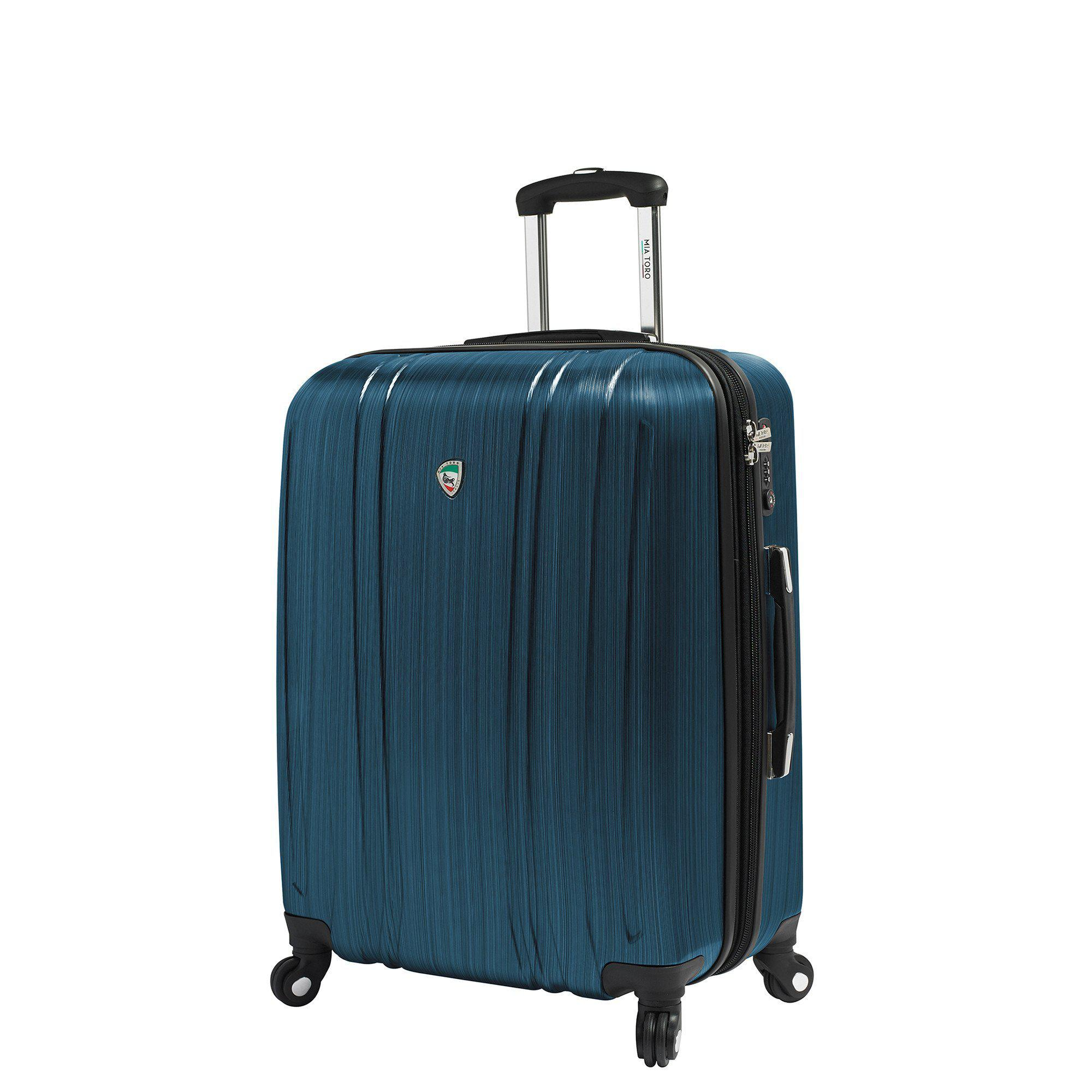Acciaio Abrased Steel Hardside Spinner Carry On Luggage