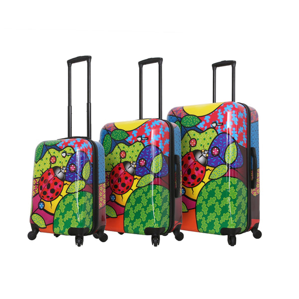 Allegra  Pop Ladybug Luggage Set (3 Pieces)