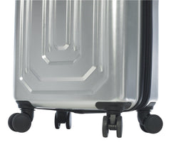 Alluminio Satin Aluminum Hardside Spinner Carry On Luggage