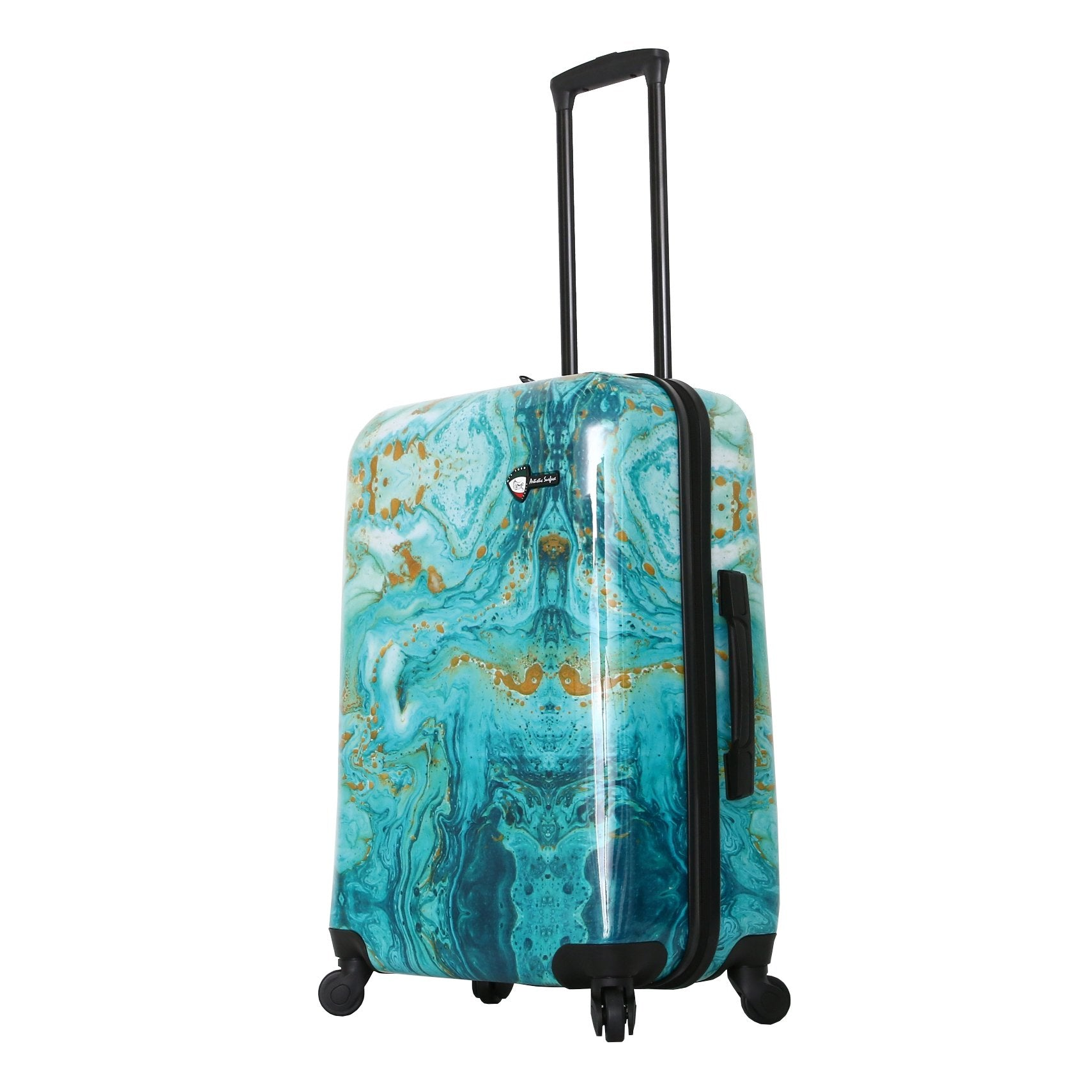 "Aurora Artistic Surface 24"" Spinner Luggage"