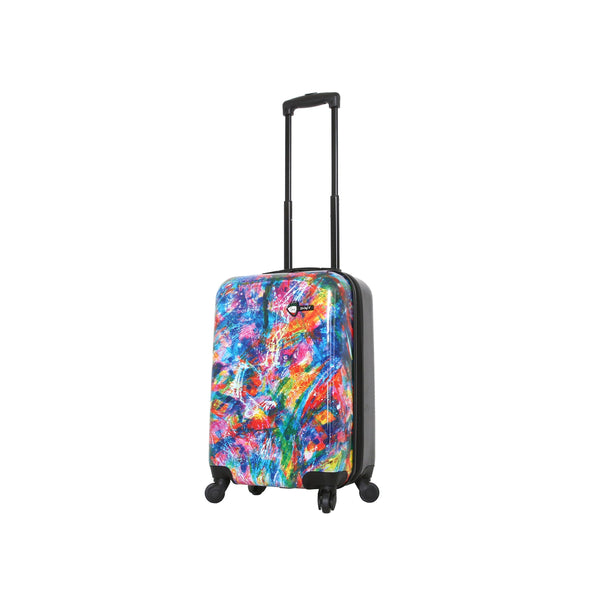 "Duaiv Splash Colorful Luggage - 20"" Carry-On"