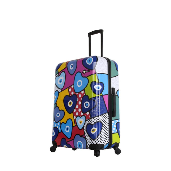 Evil Eye Hearts Hard Side 28'' Spinner Luggage