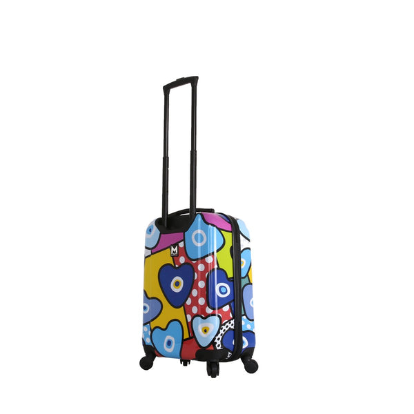 Evil Eye Hearts Hard Side Spinner Carry-On