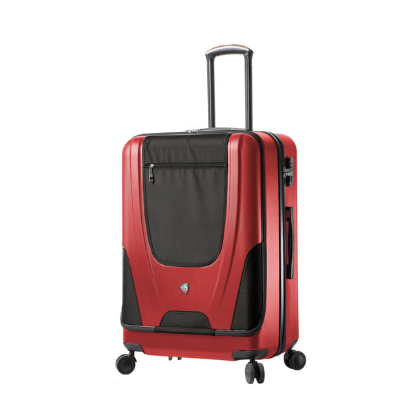 "Ibeido Hardside Fusion 28"" Spinner Luggage With Front Pocket"