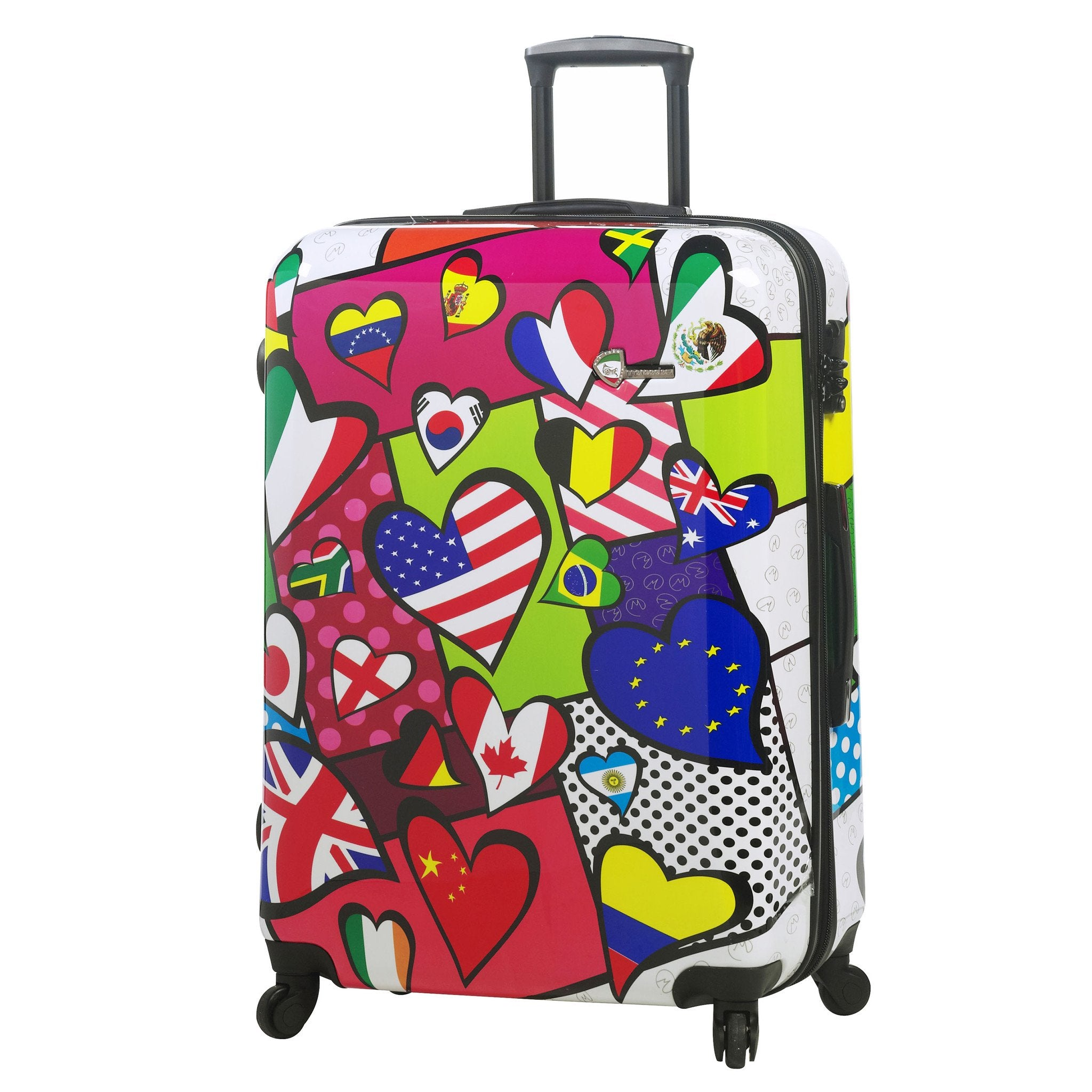 "M by Mia Toro - International Love Hardside 28"" Spinner Luggage"