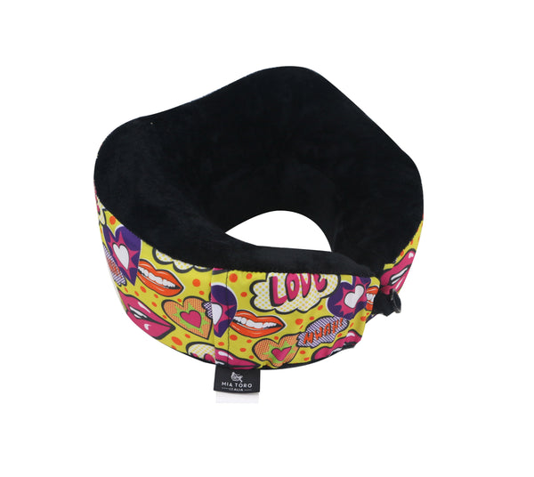 Travel Memory Foam Neck Pillow From Mia Toro