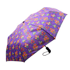Mia Toro Hamsa Love Auto Open/Auto Close Umbrella