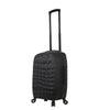 Mia Toro ITALY Abstract Croco Hardside Spinner Carry-On