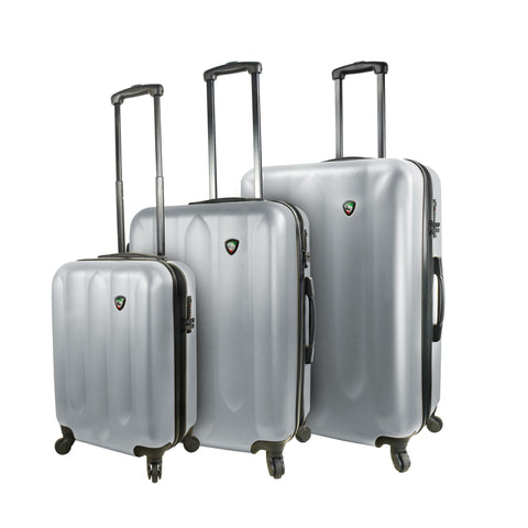 Mia Toro ITALY Acri Hardside Spinner Luggage Set (3 Pieces)