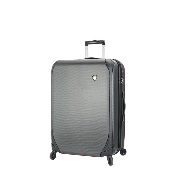 Mia Toro ITALY Aquila Hardside 28 Inch Spinner Luggage in black color