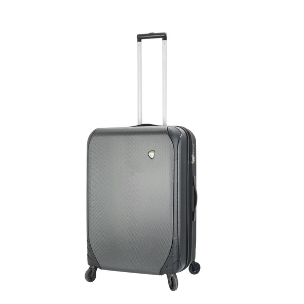 Mia Toro ITALY Aquila Hardside Spinner Carry-On in black color