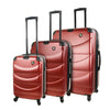 Mia Toro ITALY Cadeo Hardside Spinner Luggage 3PC Set