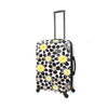 Mia Toro ITALY EKKO Flower Hardside 24'' Spinner Luggage